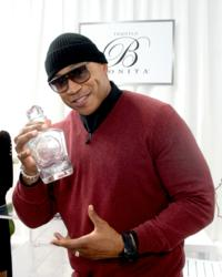GRAMMY Host LL Cool J With His Bottle of Bonita Platinum Tequila